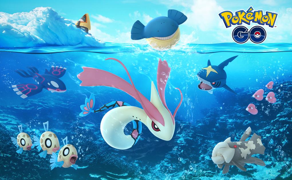 เทศกาลฮอลิเดย์ ของเกมส์ โปเกม่อน โก (pokemon go)