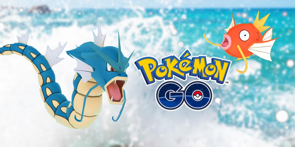 โปเกมอน โก จัด อีเวนท์เทศกาลแห่งสายน้ำ สามารถพบโปเกมอนน้ำมากขึ้นทั่วโลก